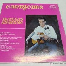 Discos de vinilo: DAVID MORENO-CAPRICHOS-LP-EDICION VENEZUELA- N. Lote 48888011