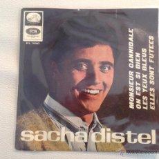 Discos de vinilo: EP SACHA DISTEL - EDICION ESPAÑOLA 1966. Lote 48888188