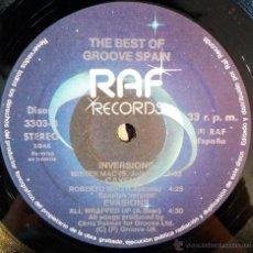 Discos de vinilo: THE BEST OF GROOVE SPAIN EP. Lote 48888708