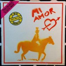 Discos de vinilo: PLASTIC MODE, MI AMOR MAXI-SINGLE. Lote 48889158