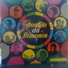 Discos de vinilo: DESFILE DE FAMOSOS (BELTER, 1966) MODUGNO, THE BRISKS, MINA, 5 LATINOS, UDO JURGENS, ZANICCHI, DALLA. Lote 48890881