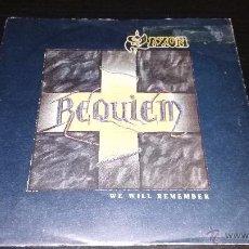 Discos de vinilo: SAXON - REQUIEM (WE WILL REMEMBER). Lote 48892497