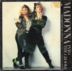 Disques de vinyle: MADONNA -INTO THE GROOVE - SINGLE - BSO.. Lote 48898678