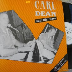 Discos de vinilo: CARL DEAN AND HIS PIANO -ROCKIN BOPPIN -LP -BUEN ESTADO. Lote 48898873