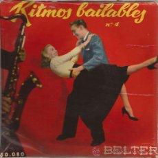 Discos de vinilo: EP-RITMOS BAILABLES Nº 4-BELTER 50080-SPAIN SIN FECHA-VICENTE LOPEZ ENOCH LIGHT NICK PERITO. Lote 48903946