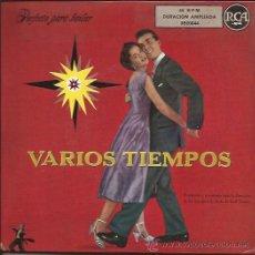 Discos de vinilo: EP-VARIOS TIEMPOS-RCA 20044-EP DOBLE-ARTIE SHAW LUIS ALCARAZ TOMMY DORSEY GLENN MILLER. Lote 48904129