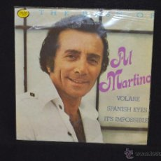 Discos de vinilo: THE BEST OF AL MARTINO - LP. Lote 48904937