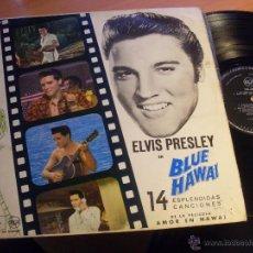 Discos de vinilo: ELVIS PRESLEY (EN BLUE HAWAI) LP ESPAÑA 1961 . LPM2426 (EX/VG++) (VIN16). Lote 48908740