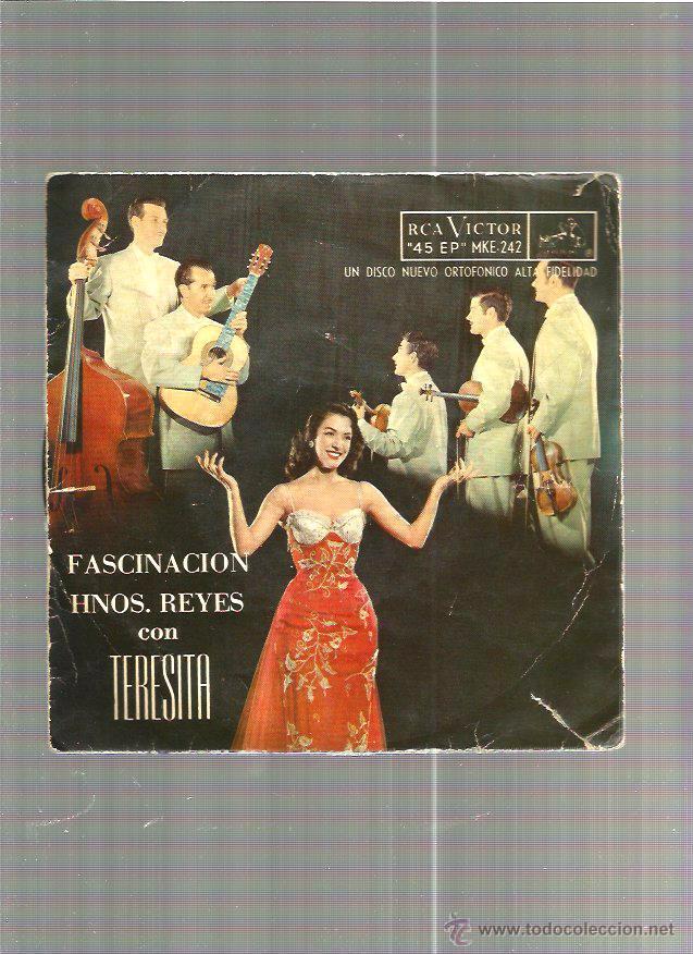 HERMANOS REYES CON TERESITA (Música - Discos - Singles Vinilo - Otros estilos)