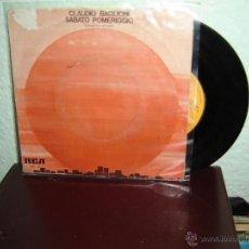 Discos de vinilo: CLAUDIO BAGLIONI SINGLES 45 RPM 1975. Lote 48917280