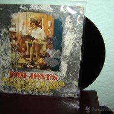 Discos de vinilo: TOM JONES EMPEÑADO MI AMOR SINGLES 45 RPM 1975. Lote 48917449