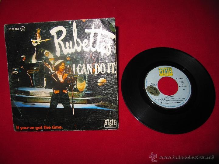 RUBETTES - I CAN DO IT - SINGLE (Música - Discos - Singles Vinilo - Electrónica, Avantgarde y Experimental)