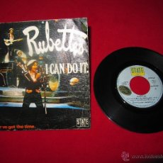 Discos de vinilo: RUBETTES - I CAN DO IT - SINGLE. Lote 48921325