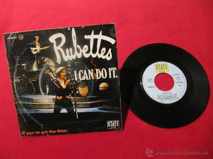 Discos de vinilo: RUBETTES - I CAN DO IT - SINGLE - Foto 2 - 48921325