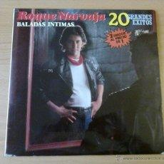 Discos de vinilo: ROQUE NARVAJA - BALADAS INTIMAS (2 LP 1985 FONOMUSIC) CANTAUTOR ARGENTINO. Lote 48924555