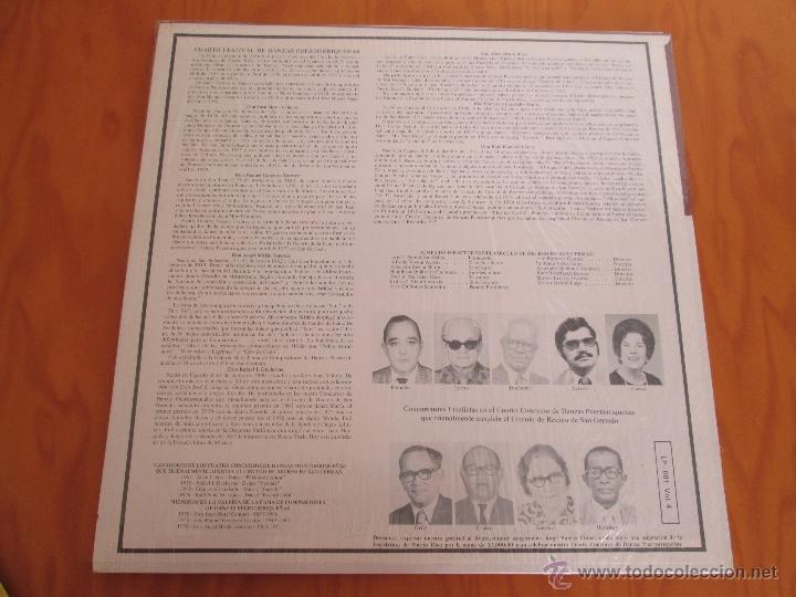 Discos de vinilo: EL CIRCULO DE RECREO DE SAN GERMÁN. 5 VINILOS DE DANZAS PUERTORRIQUEÑAS. - Foto 10 - 48932199