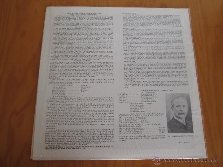 Discos de vinilo: EL CIRCULO DE RECREO DE SAN GERMÁN. 5 VINILOS DE DANZAS PUERTORRIQUEÑAS. - Foto 12 - 48932199
