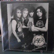 Discos de vinilo: SLAYER - LIVE IN MILAN 26-1-89. Lote 48932795