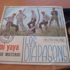 Discos de vinilo: LOS DIAPASONS ( MI YAYA, ¡QUÉ MISTERIO! SINGLE ESPAÑA 1966 (EX+/ EX+) (EP12). Lote 48936612