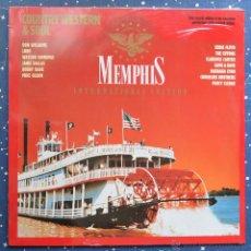 Discos de vinilo: MEMPHIS - DISCOS DE VINILO ROJO - NUEVO PRECINTADO - COUNTRY WESTERN & SOUL. Lote 48940101