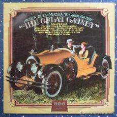 Discos de vinilo: THE GREAT GATSBY - MUSICA DE LA PELICULA EL GRAN GATSBY - RCA 1974. Lote 48940248