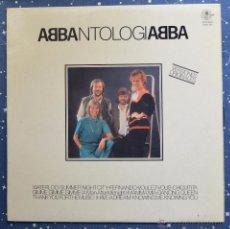 Discos de vinilo: ABBA - ANTOLOGÍA - DISCOS COLUMBIA AÑOS 80 - OBSEQUIO CAJA DE BARCELONA. Lote 48940323