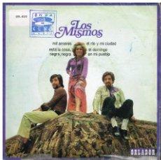 Discos de vinilo: LOS MISMOS - MI AMORES / ESTA LA COSA, NEGRA, NEGRA / EL RÍO Y MI CIUDAD +1 - EP 1971. Lote 48940921