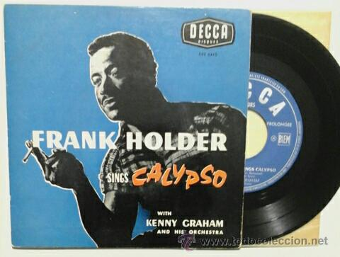 Discos de vinilo: FRANK HOLDER & KENNY GRAHAN -EP- JUMP IN THE LINE +3 OR FRENCH 50,S - Foto 1 - 48943879