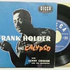 Discos de vinilo: FRANK HOLDER & KENNY GRAHAN -EP- JUMP IN THE LINE +3 OR FRENCH 50,S . Lote 48943879