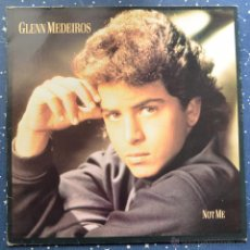 Discos de vinilo: GLENN MEDEIROS - NOT ME - AMHERST RECORDS - POLYGRAM IBERICA - 1988. Lote 48945948