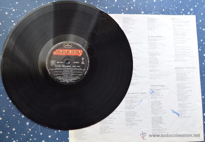Discos de vinilo: GLENN MEDEIROS - NOT ME - AMHERST RECORDS - POLYGRAM IBERICA - 1988 - Foto 3 - 48945948