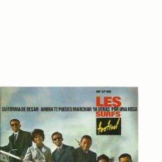 Discos de vinilo: LES SURFS EP SELLO HISPAVOX AÑO 1964 EDITADO EN ESPAÑA . Lote 48947188