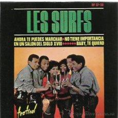 Discos de vinilo: LES SURFS EP SELLO HISPAVOX AÑO 1964 . Lote 48947225