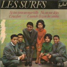 Discos de vinilo: LES SURFS EP SELLO FESTIVAL AÑO 1964 . Lote 48947273