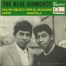 Discos de vinilo: THE BLUE DIAMONDS EP SELLO FONTANA CANTADO EN ESPAÑOL. Lote 48947328