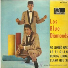Discos de vinilo: THE BLUE DIAMONDS EP SELLO FONTANA . Lote 48947402