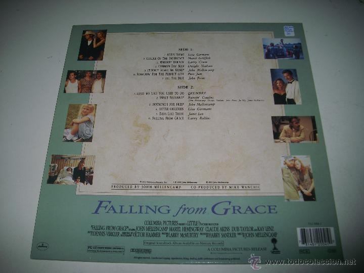 Discos de vinilo: FALLING FROM GRACE (1992 MERCURY HOLANDA) JOHN COUGAR MELLENCAMP LISA GERMANO DWIGHT YOAKAM - Foto 2 - 48948169