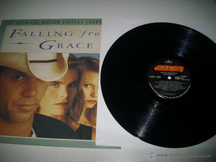 Discos de vinilo: FALLING FROM GRACE (1992 MERCURY HOLANDA) JOHN COUGAR MELLENCAMP LISA GERMANO DWIGHT YOAKAM - Foto 3 - 48948169