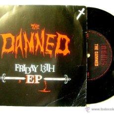 Disques de vinyle: THE DAMNED.FRIDAY 13TH...DISCO MAN + 3..PEDIDO MINIMO 5€. Lote 48949244