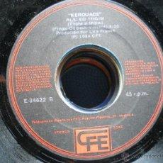 Discos de vinilo: KEROUACS / ISLA DE WIGHT / ALSI ED THGIW (SINGLE 1969) SIN CARATULA. Lote 48949894