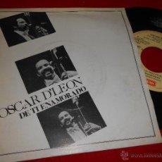 Discos de vinilo: OSCAR D'LEON DE TI ENAMORADO/EL CACHUMBAMBE 7 SINGLE 1981 EMI PROMO ESPAÑA SPAIN LATIN . Lote 48951986
