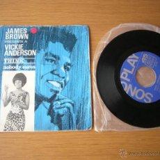 Discos de vinilo: EP JAMES BROWN PRESENTA A VICKIE ANDERSON THINK NOBODY SONOPLAY FUNKADELIC PARLIAMENT SLY WILSON. Lote 48955204