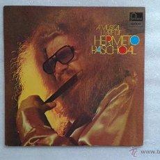 Discos de vinilo: HERMETO PASCHOAL - A MUSICA LIVRE DE HERMETO PASCHOAL LP 1985 EDICION BRASILEÑA. Lote 48960935