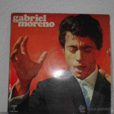 Discos de vinilo: GABRIEL MORENO-LP 1970 CON VICTOR MONGE SERRANITO. Lote 48962336