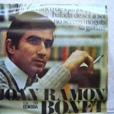 Discos de vinilo: JOAN RAMON BONET . Lote 48963057