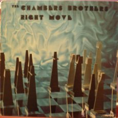 Discos de vinilo: THE CHAMBERS BROTHERS - RIGHT MOVE. Lote 48964689
