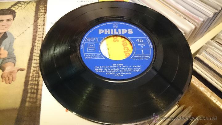 Discos de vinilo: Victor Orquesta y coros Ese Beso Maria West side story Disco de vinilo Ep Philips - Foto 5 - 48965811