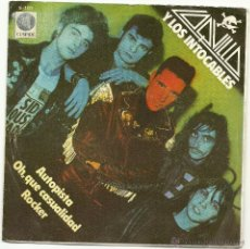 Discos de vinilo: LOQUILLO Y LOS INTOCABLES. AUTOPISTA ( VINILO SINGLE 1982). Lote 48967006