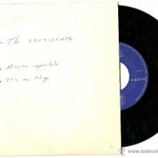 Discos de vinilo: THE PRESIDENT'S. MISSION IMPOSIBLE ( VINILO SINGLE 1969). Lote 48967260