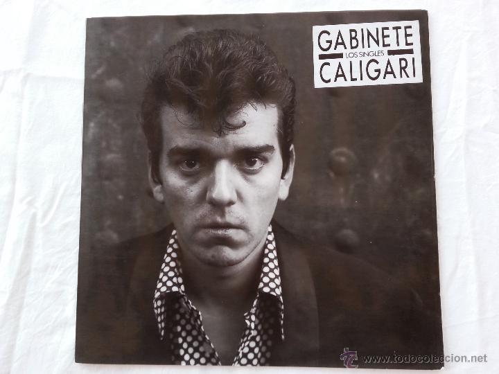 GABINETE CALIGARI - LOS SINGLES - LP - RARO (Música - Discos - LP Vinilo - Grupos Españoles de los 70 y 80)